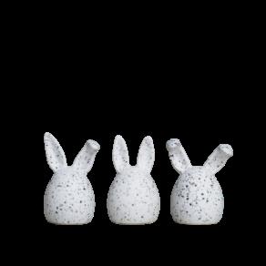 Triplets (3-p) – white dot