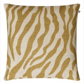 Kuddfodral Zebra – Spicy Yellow 50×50 cm