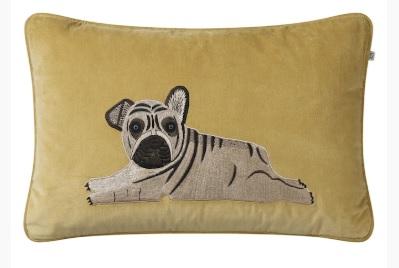 Kuddfodral Puppy -Spice Yellow, 40×60 cm