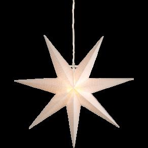 Pappersstjärna Dot 70cm vit