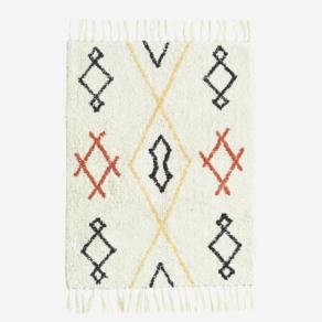 Tufted Cotton bath mat 60×90 cm