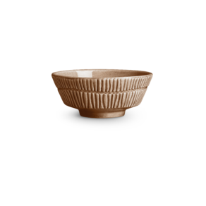 Stripes Skål 15×6 cm/50cl Cinnamon