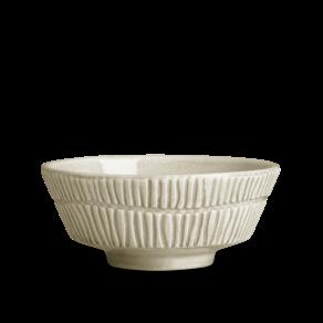 Stripes Skål 15×6 cm/50cl Sand